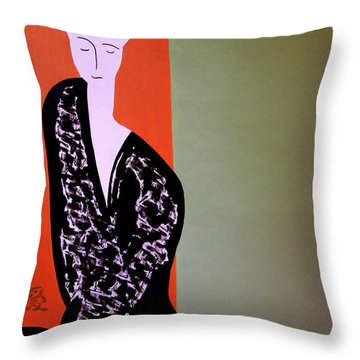 Tuesday Afternoon Throw Pillow
