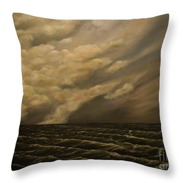 Tuesday Morning Throw Pillow by John Stuart Webbstock