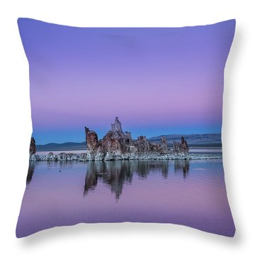 Tufa Island Throw Pillow