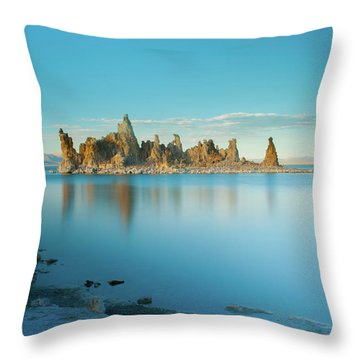 Tufas In The Fall Throw Pillow