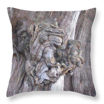 Tule Tree Spirit Throw Pillow by Michael Peychich