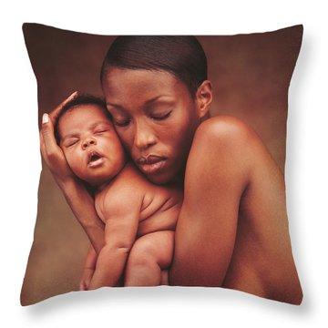 Mother Throw Pillows