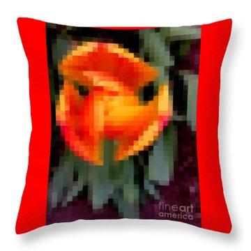 Tulip 1 Honoring Princess Diana Throw Pillow