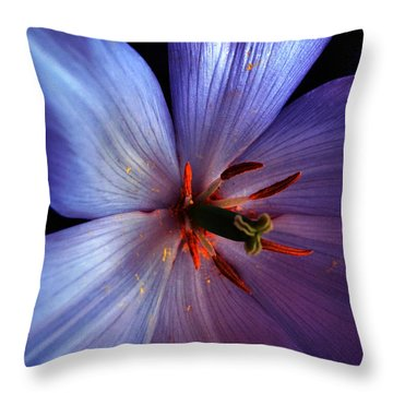Tulip Convert Throw Pillow by Gwyn Newcombe