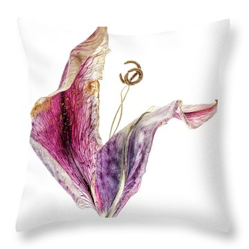 Tulip Dancer Throw Pillow
