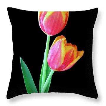 Tulip Duo Throw Pillow