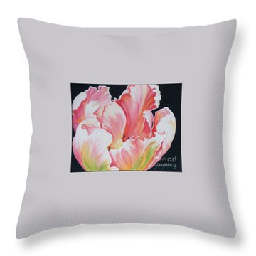 Tulip Sold Throw Pillow