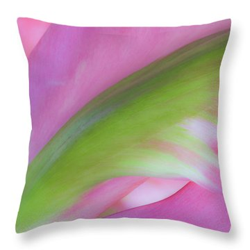 Tulip Study Throw Pillow