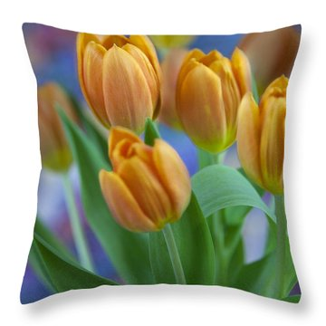 Tulips 2015 #1 Throw Pillow