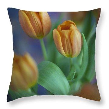 Tulips 2015 #3 Throw Pillow