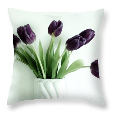 Tulips For You Throw Pillow