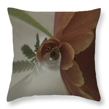 Tulips In A Spin Throw Pillow