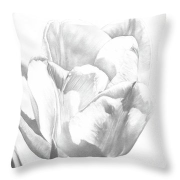 Tulips No. 1 Throw Pillow