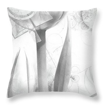 Tulips No. 2 Throw Pillow