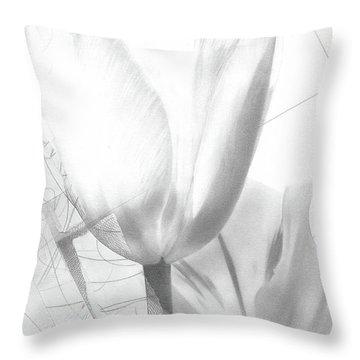 Tulips No. 3 Throw Pillow