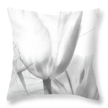 Tulips No. 3 Throw Pillow