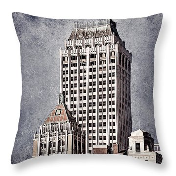 Tulsa Art Deco I Throw Pillow