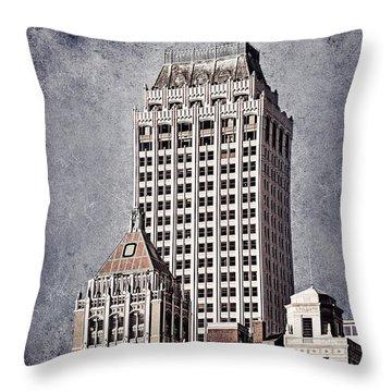 Tulsa Art Deco I Throw Pillow by Tamyra Ayles