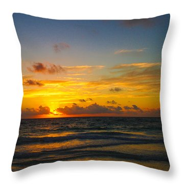 Tulum Magic Throw Pillow
