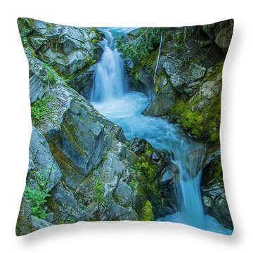 Tumbling Throw Pillow