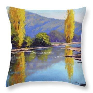 Autumn Scenes Throw Pillows
