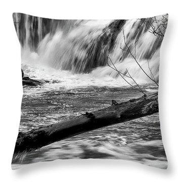 Tumwater Waterfalls#2 Throw Pillow