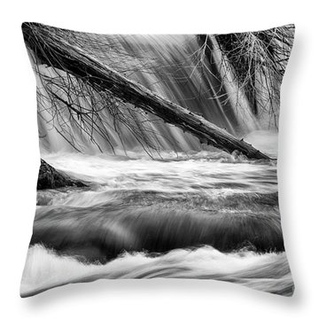 Tumwater Waterfalls#3 Throw Pillow