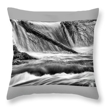 Tumwater Waterfalls#3 Throw Pillow