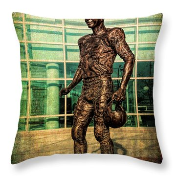 Tundra Titan Throw Pillow
