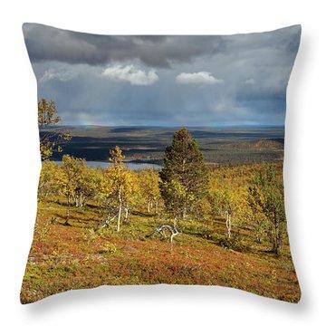 Tundra View Throw Pillow