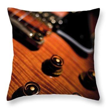 Tune Into Focus Throw Pillow
