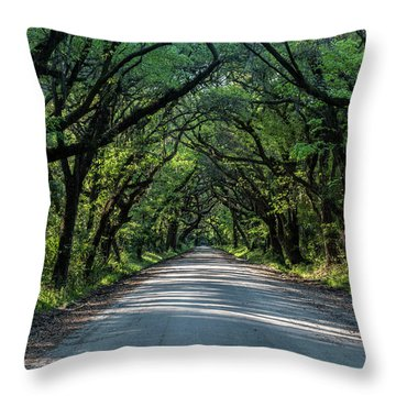Throw Pillow featuring the photograph Tunnel On Botany Bay by Jon Glaser