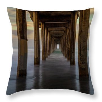 Tunnelscape Throw Pillow