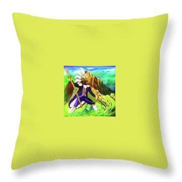 Tupac Amaru II Throw Pillow