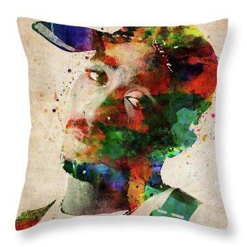 Tupac Shakur Throw Pillow