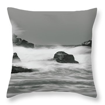 Turbulent Thoughts Throw Pillow