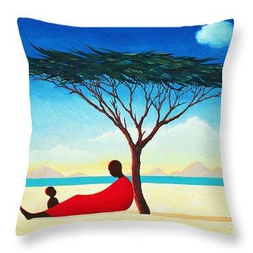Turkana Afternoon Throw Pillow