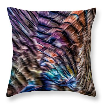 Turkey Sides Throw Pillow