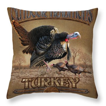 Turkey Traditions Throw Pillow