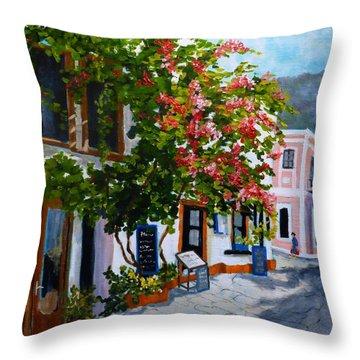 Turkish Delight Throw Pillow
