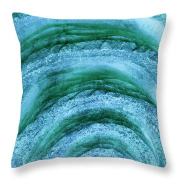 Throw Pillow featuring the digital art Turmoil by Wendy Wilton