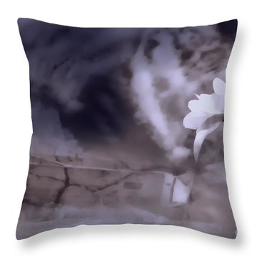 Turn Around There Is Hope Throw Pillow by Cathy  Beharriell
