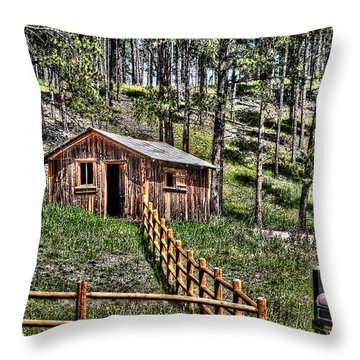 Turn Back The Clock Throw Pillow