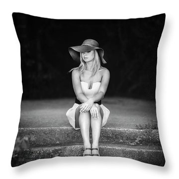 Turn Back Time Throw Pillow