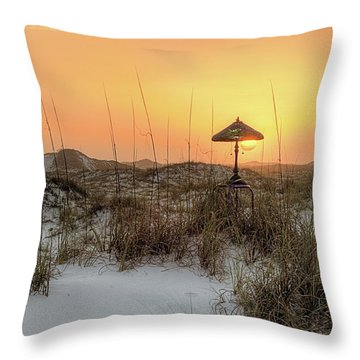 Turn On The Light Throw Pillow by JC Findley