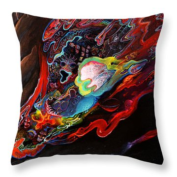 Turn The Light On Throw Pillow by Steve Griffith