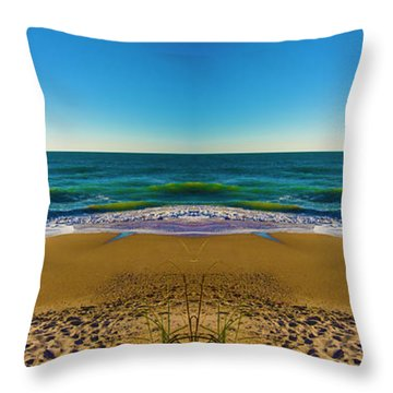 Turn The Page Throw Pillow by Betsy Knapp