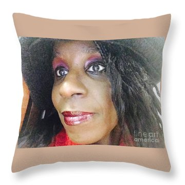Turn To My Side Throw Pillow