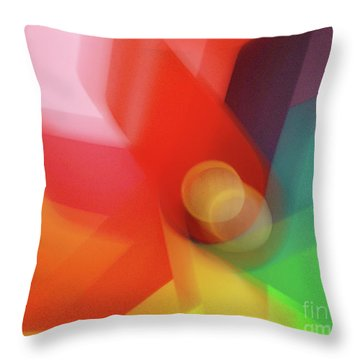 Turn Your Luck Around Throw Pillow