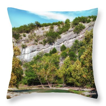 Turner's Gems Throw Pillow